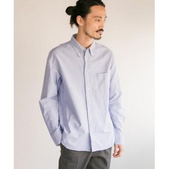 アーバンリサーチ MANUAL ALPHABET スーピマOX ボタンダウンシャツ メンズ NAVY 3 【URBAN RESEARCH】