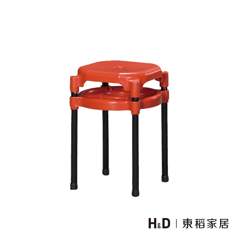 紅色雙環椅/H&D東稻家居-消費滿3千送點數10%