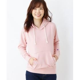 ピンクアドベ 裏毛プルオーバーパーカー レディース ベビーピンク(071) 40(L) 【pink adobe】