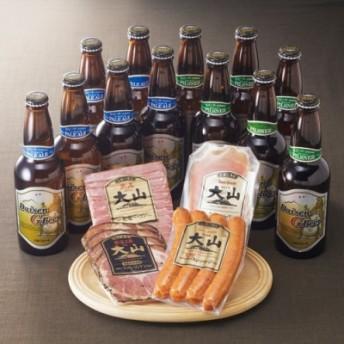 大山Gビール&大山ハム コースB(全3回のお届け)