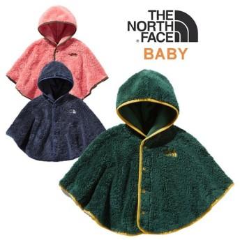 ノースフェイス ベビー フリース ポンチョ アウター THE NORTH FACE [ NAB71962 ] BABY FLEECE PONCHO シェルパフリース キッズ [0905]