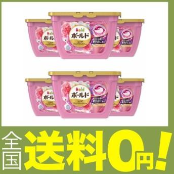 洗濯洗剤 ジェルボール3D 柔軟剤入り ボールド 癒しのプレミアムブロッサム 本体 18個×6個