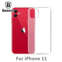 Baseus 倍思 iPhone11 高透TPU防摔軟殼保護套 透明
