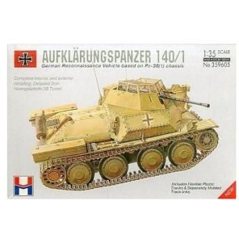 中古プラモデル 1/35 ドイツ軍偵察戦車 AUFKLARUNGSPANZER 140/1 「WAR HISTORY SERIES」 [359605]