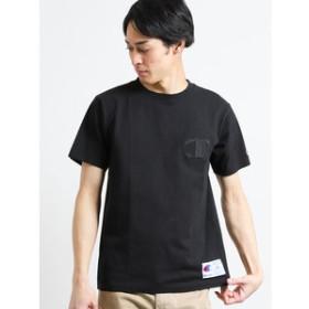 【on the day:トップス】チャンピオン/Champion ロゴクルーネック半袖Tシャツ