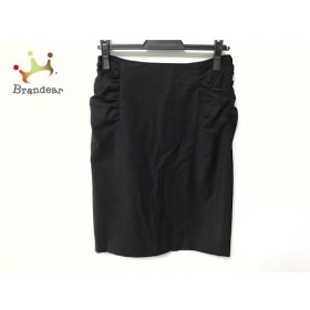 エストネーション ESTNATION スカート サイズ38 M レディース 黒 新着 20190911