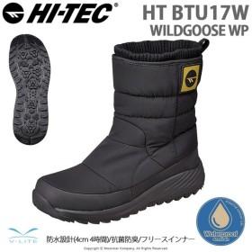 ハイテック HI-TEC [2019年秋冬新作] メンズ/レディース ウィンターブーツ HT BTU17W WILDGOOSE WP ブラック