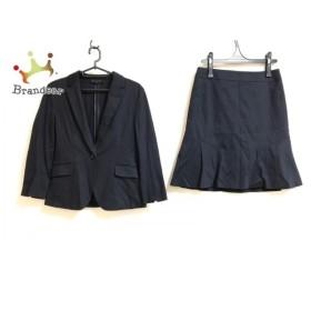 アンタイトル UNTITLED スカートスーツ サイズ3 L レディース ダークネイビー 新着 20190911