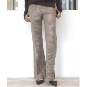 L'Appartement MOON Flare Pants ブラウン 36