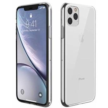 iPhone11ケースガラスケース強化ガラスTPUバンパー9H硬度加工
