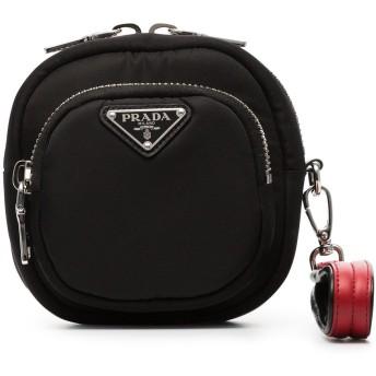 Prada ロゴ ブレスレットバッグ - ブラック