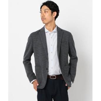 フレディアンドグロスター パールニットジャケット メンズ ミディアムグレー S 【FREDY & GLOSTER】