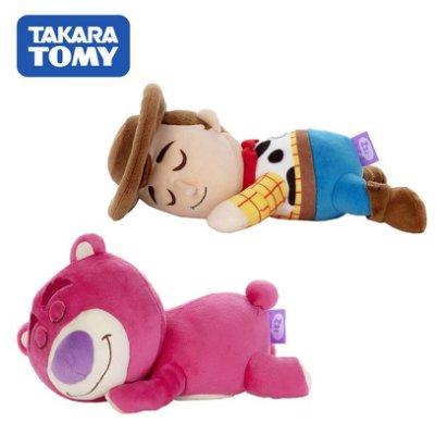 玩具總動員 睡覺好朋友 絨毛玩偶 娃娃 胡迪 熊抱哥 迪士尼 皮克斯
