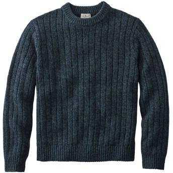 エル・エル・ビーン・クラシック・ラグ・ウール・セーター、リブ・ニット クルーネック/Men's L.L.Bean Classic Ragg Wool Sweater, Rib-Knit Crewneck
