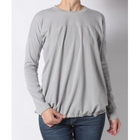 (SHIPS OUTLET/シップス アウトレット)【SHIPS for women】and wander: DRY JERSEY DROP TEE/レディース ライトグレー