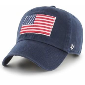 バスケットキャップ ビーニー    47 Brand '47 CLEAN UP USA Nvy   ランニング トレーニング