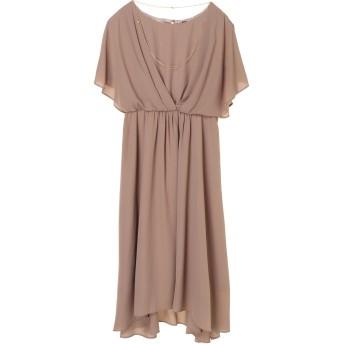 【6,000円(税込)以上のお買物で全国送料無料。】ネックレス付きロングドレス