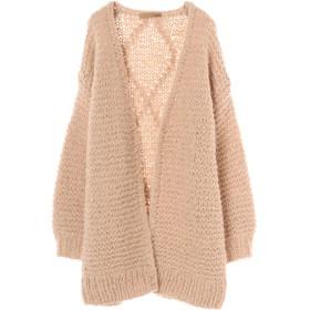 Loro Hand Knitted Cardigan カーディガン,キャメル