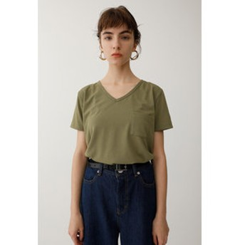 【MOUSSY:トップス】DRY LOOSE V/N Tシャツ