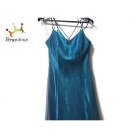 エメ aimer ドレス サイズ9 M レディース 美品 ネイビー チュール 新着 20190911