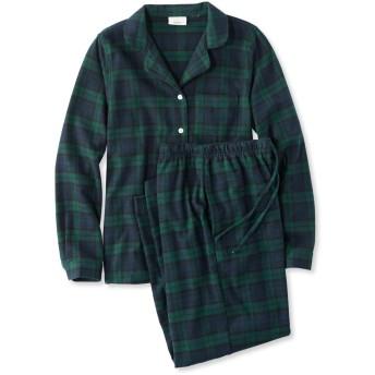 スコッチ・プラッド・フランネル・パジャマ、プラッド/Scotch Plaid Flannel Pajamas