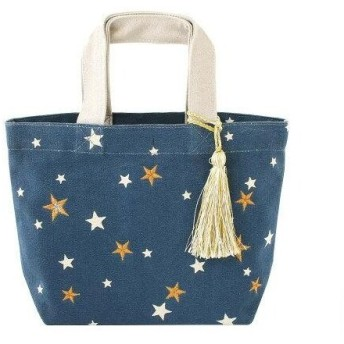 トモコーポレーション バッグ 刺繍 スター ネイビー 14218650095 (1388058)