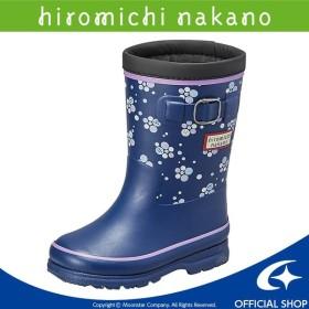 ヒロミチナカノ [2019年秋冬新作] 子供靴 キッズレインブーツ HN WC171R ネイビー