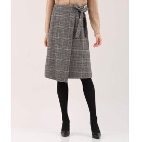 ef-de / エフデ サイドリボンラップ風スカート
