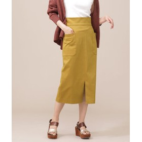 【nano・universe:スカート】【Oggi 7月号掲載】CRストレッチアウトポケットスカート