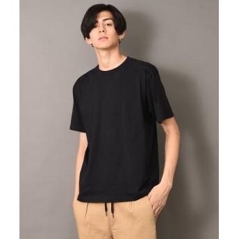 ルヴニール HanesへインズBEEFY半袖Tシャツ メンズ ブラック L 【revenil】