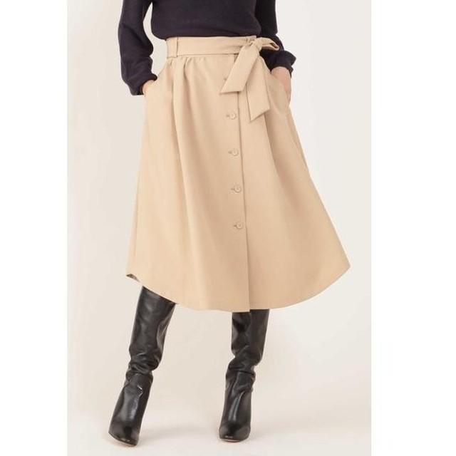 NATURAL BEAUTY / ナチュラルビューティー ◆[ウォッシャブル]フロントボタンスカート