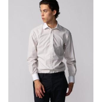 (TOMORROWLAND/トゥモローランド)120/2コットンブロード クレリック ワイドカラー ドレスシャツ NEW WIDE-3/メンズ 44ベージュ系 送料無料