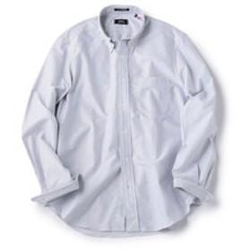 【SHIPS:トップス】SHIPS×IKE BEHAR: アメリカ製 オックスフォード ストライプ ボタンダウン シャツ