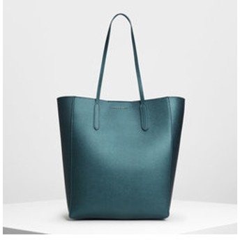 【CHARLES & KEITH:バッグ】クラシック トートバッグ / Classic Tote Bag