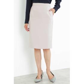 BOSCH [ウォッシャブル]2WAYストレッチセットアップスカート ひざ丈スカート,グレー