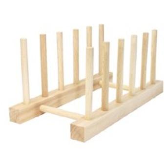 ディッシュスタンド ラルース La Luz 木製 木 ギフト ディスプレイ キッチン インテリア
