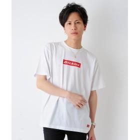 ルヴニール Dickies ディッキーズ ルーズフィットプリント半袖Tシャツ メンズ ホワイト L 【revenil】