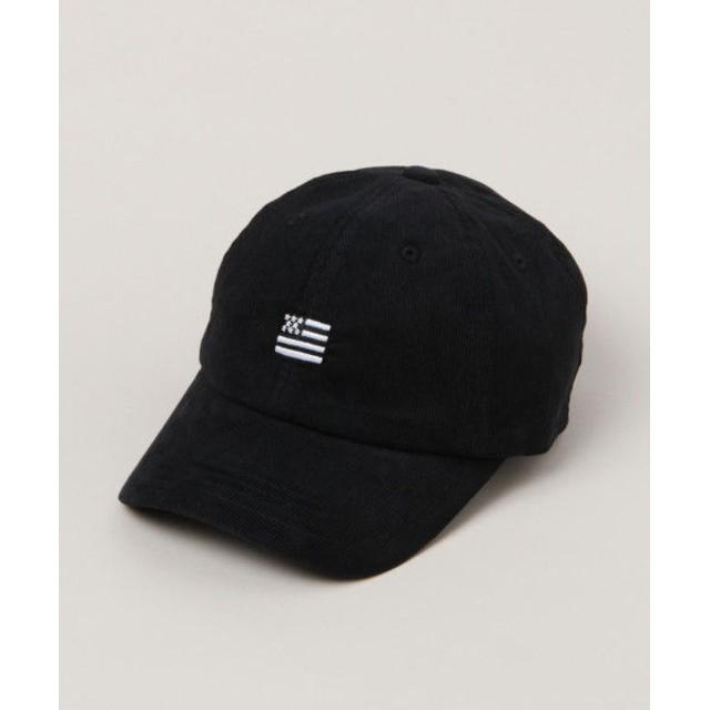 (RAGEBLUE/レイジブルー)コーデュロイ刺繍LOW CAP/ [.st](ドットエスティ)公式