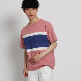 THE SHOP TK(Men)(ザ ショップ ティーケー:メンズ)/テクニカルボーダーTシャツ
