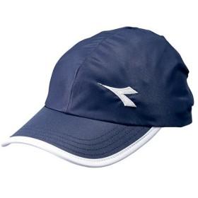ディアドラ(diadora) レディース テニスウェア W キャップ ネイビー×ホワイト DTA9792 6890 テニス ウェア 帽子 日よけ アクセサリー