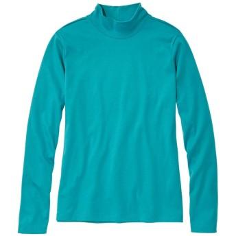 ピマ・コットン・シャツ、スタンド・アップ・ネック 長袖/Pima Cotton Shirt, Stand-Up Neck Long-Sleeve