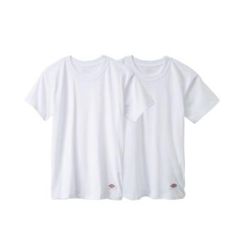 【ディッキーズ】 半袖インナー2枚組(男の子 子供服。ジュニア服) キッズ下着