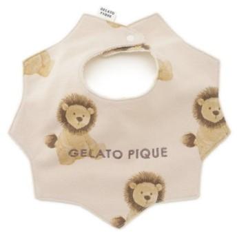 ジェラートピケ ライオン baby スタイ レディース BEG F 【gelato pique】