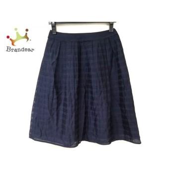 ジユウク 自由区/jiyuku スカート サイズ36 S レディース 美品 ネイビー   スペシャル特価 20191214
