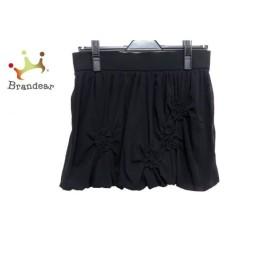 ヴィヴィアンタム バルーンスカート サイズ0 XS レディース 美品 黒 フラワー/ショート丈 新着 20190911