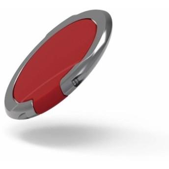 エレコム スマホ リング ホールドリング (ポケットの出し入れなどでも邪魔にならない極薄設計) スタンド機能