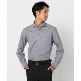 (FREDY & GLOSTER/フレディアンドグロスター)ドレスパラシュートドレスシャツ/メンズ ネイビー系1