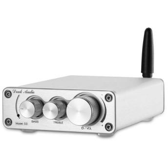 Mini TPA3116 Bluetooth 5.0 HiFi パワーアンプ ステレオ ホーム オーディオアンプ 高低音コントロール (シル