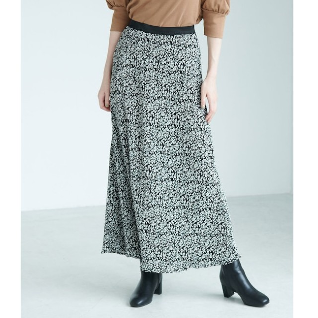 【ロペピクニック/ROPE' PICNIC】 【WEB限定】【新色追加】プリーツフラワースカート