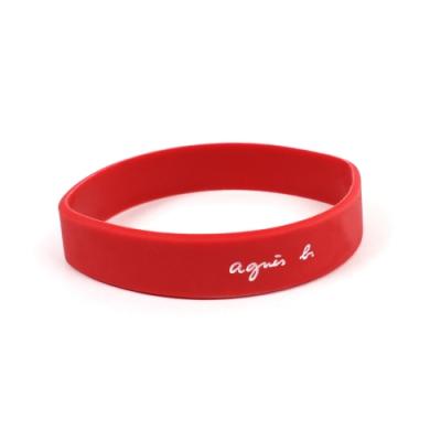 agnès b 矽膠手環